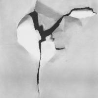 Gescheurd papier / 2014 / 40 x 30 cm / pencil and Conté on paper