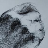 study / 2012 / 30 x 20 cm / chalk on paper