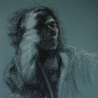 study / 2013 / 50 x 40 cm chalk on paper