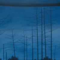 Cumulus / 45 x 78 cm / 2020 / oil on canvas