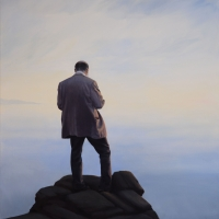 Verbinding / 2015 / 160 x 100 cm / acrylic on canvas