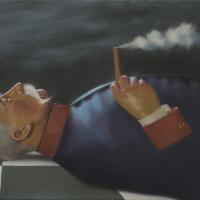 De optimist / 2017 / 40 x 60 cm / oil on canvas