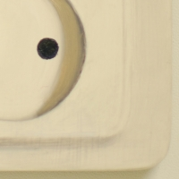 Stopcontact 2 / 2014 / 11 x 9 cm / oil on panel / in private collection