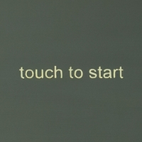 Touch to start / 2013 / 20 x 27 cm / acrylic and lacquer on panel